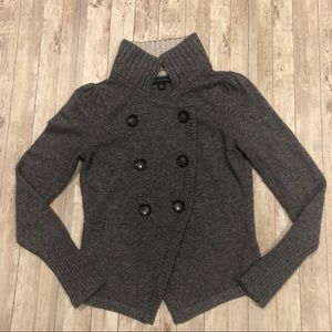 Banana Republic wool blend button front cardigan